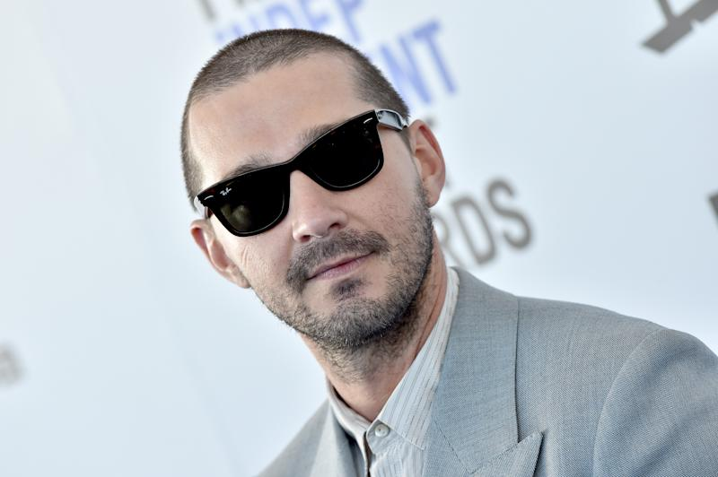 SANTA MONICA, CALIFORNIA - FEBRUARY 08: Shia LaBeouf attends the 2020 Film Independent Spirit Awards on February 08, 2020 in Santa Monica, California. (Photo by Axelle/Bauer-Griffin/FilmMagic)