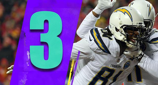 <p>The Chargers went on the road without Melvin Gordon and mostly without Keenan Allen and beat the team with the best record in the AFC. They look like the best team in the AFC right now. But … (Mike Williams) </p>