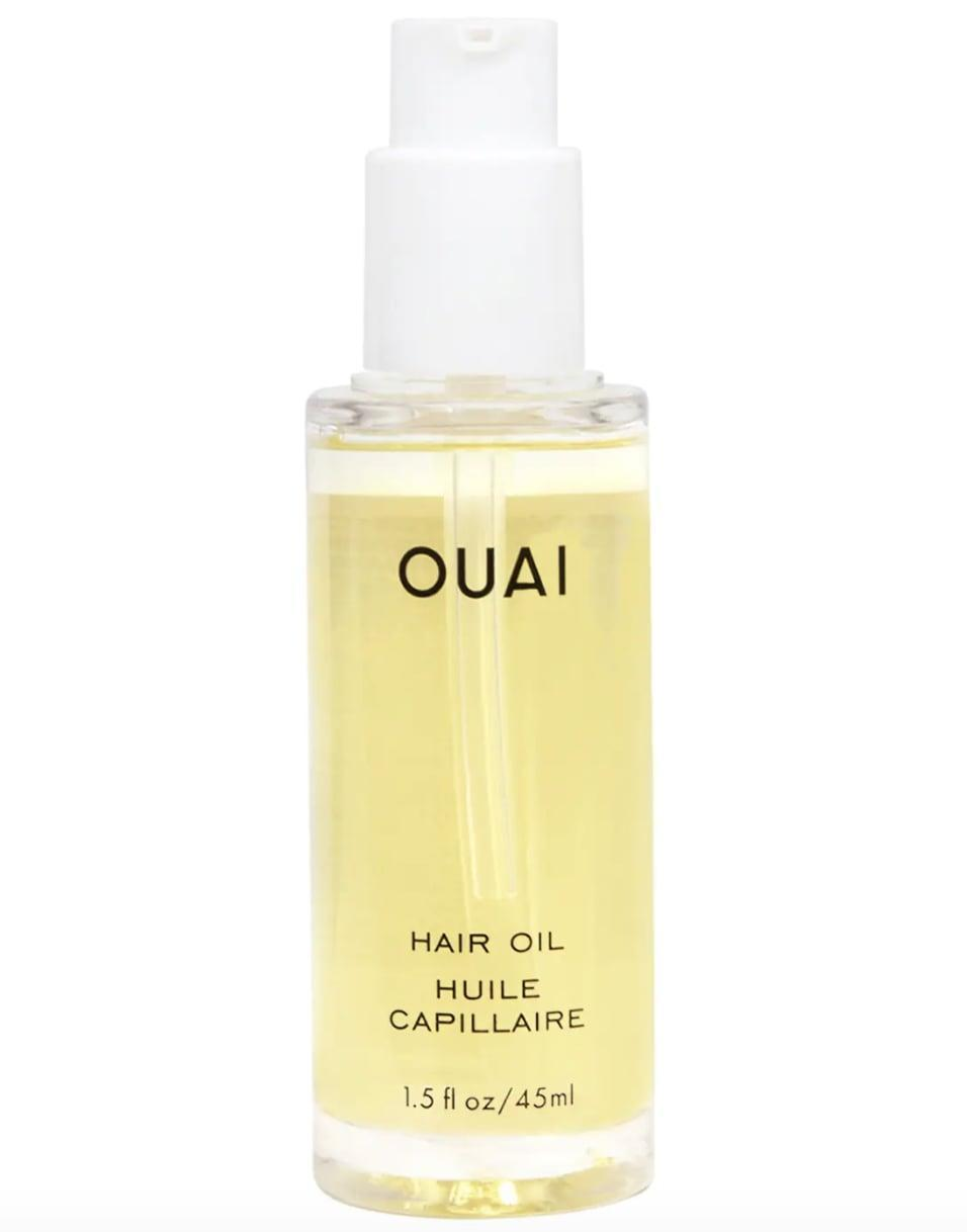 <p>The <span>Ouai Hair Oil</span> ($28) is a star product from celebrity hairstylist Jen Atkin's personal hair-care brand, and for good reason. It's a lightweight multitasking oil that protects the hair from heat damage and even preserves color while giving the hair a glossy finish.</p>