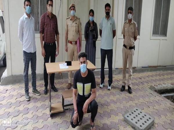 The arrested accused (Photo/ANI)