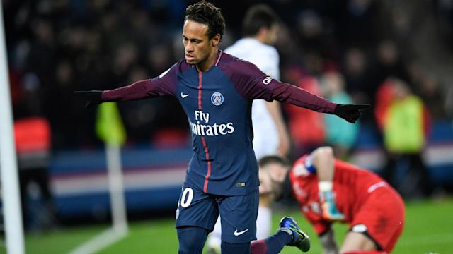 The Brazilian looked to be at his best despite the lay-off as he netted four times in a lopsided PSG victory over Dijon