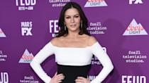 "<p>Ambitious from a young age, Welsh actress Catherine Zeta-Jones left home at age 15 for a theater career in London's West End. By the early 1990s, she had transitioned to film and television, but her career didn't really take off until later in the decade, after her move to Los Angeles.</p> <p>Zeta-Jones earned her A-list status in the late '90s and early 2000s with starring roles in hits such as ""The Mask of Zorro,"" ""Entrapment,"" ""High Fidelity"" and ""Chicago."" She won the Academy Award for best supporting actress in 2003 for the latter.</p> <p>She married actor Michael Douglas in 2000.</p>"