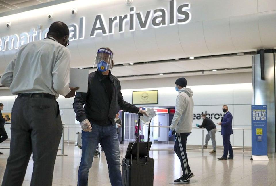 Ministers are preparing to ease travel rules for expats returning to the UK from Sunday, it has been reported (PA Wire)