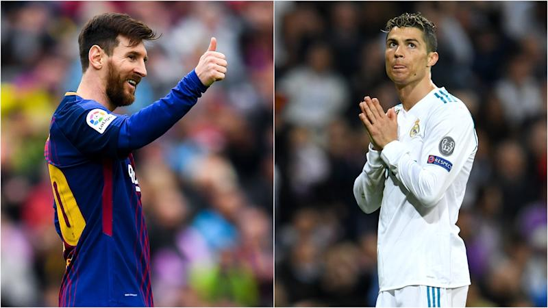 Barcelona v Real Madrid Messi's dominant 2017-18 La Liga numbers leave Ronaldo trailing