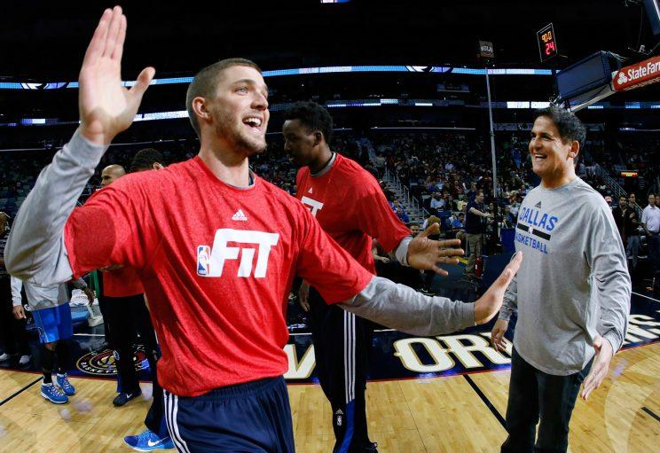 Chandler Parsons has added to his reputation during the NBA's offseason. (AP)