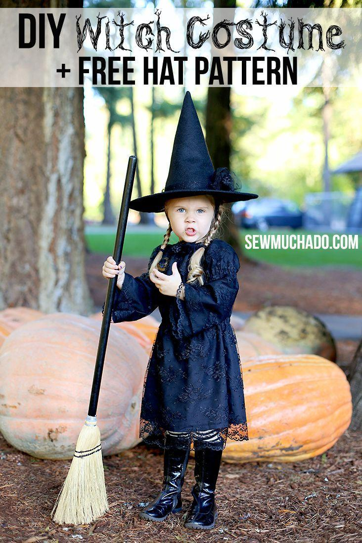 """<p>Don't already have a black dress? Make your own (and a hat!) with a little lace like Abby from <a href=""""https://www.sewmuchado.com/2015/10/free-witch-hat-pattern-diy-witch-costume.html"""" rel=""""nofollow noopener"""" target=""""_blank"""" data-ylk=""""slk:Sew Much Ado"""" class=""""link rapid-noclick-resp"""">Sew Much Ado</a>.</p><p><strong>Get the tutorial at <a href=""""https://www.sewmuchado.com/2015/10/free-witch-hat-pattern-diy-witch-costume.html"""" rel=""""nofollow noopener"""" target=""""_blank"""" data-ylk=""""slk:Sew Much Ado"""" class=""""link rapid-noclick-resp"""">Sew Much Ado</a>. </strong> </p><p><a class=""""link rapid-noclick-resp"""" href=""""https://www.amazon.com/Junxia-Floral-Pattern-Ribbon-Fabric/dp/B01KV6SVSK/ref=sr_1_2_sspa?tag=syn-yahoo-20&ascsubtag=%5Bartid%7C10050.g.28304812%5Bsrc%7Cyahoo-us"""" rel=""""nofollow noopener"""" target=""""_blank"""" data-ylk=""""slk:SHOP BLACK LACE FABRIC"""">SHOP BLACK LACE FABRIC</a></p>"""