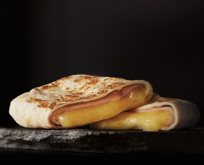 <p>What's better than a deliciously warm hot pocket? The answer is nothing. And McDonald's Australia has it all figured out by offering a pocket melt with ham and cheddar cheese, wrapped up in a warm toasted tortilla.</p>