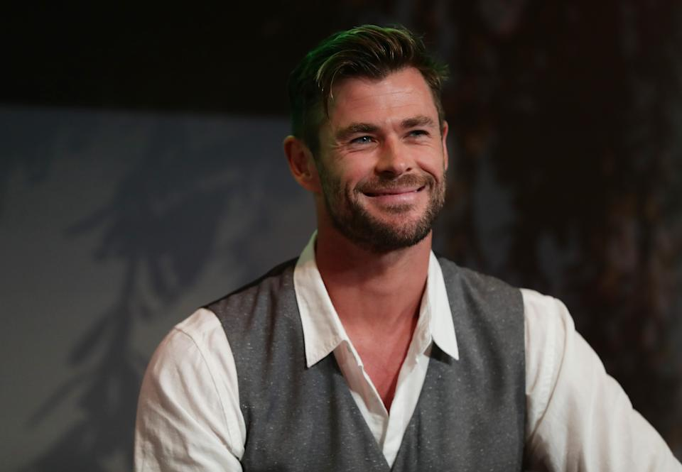 Chris Hemsworth has been recognised in the Queen's Birthday Honours. (Photo by Don Arnold/WireImage)