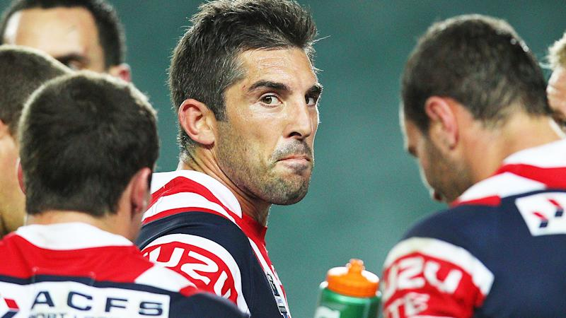 Braith Anasta, pictured here in action for the Roosters in 2012.
