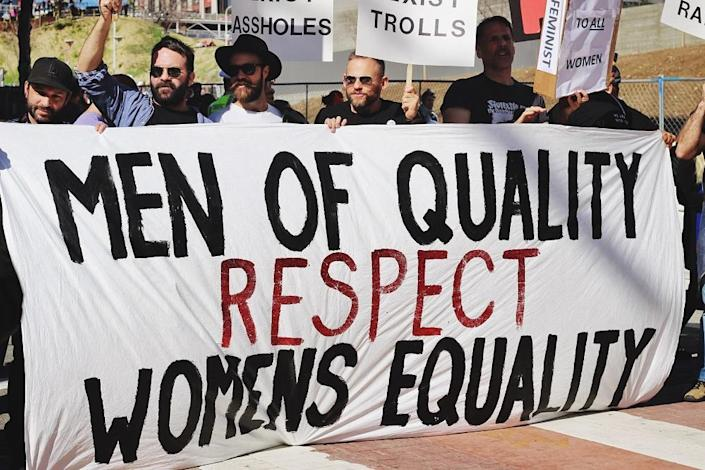 While equality has to begin at home, workplaces are essentially the one dais where men can, and must, speak up for women's empowerment. (Photo by Samantha Sophia on Unsplash)