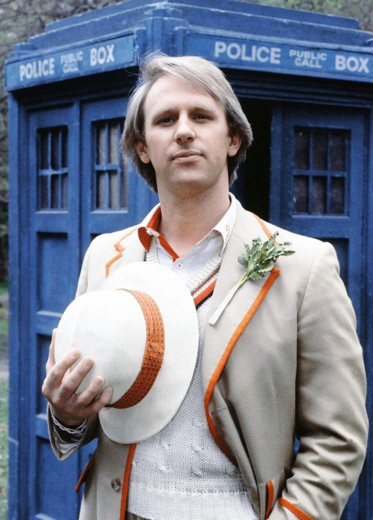 Peter Davison in 'Doctor Who' (Credit: BBC/Everett Collection)