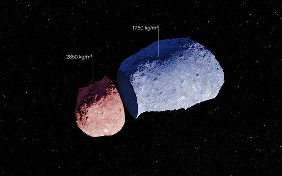Peer Inside an Asteroid: Peanut-Shaped Space Rock's Insides Revealed (Photos)
