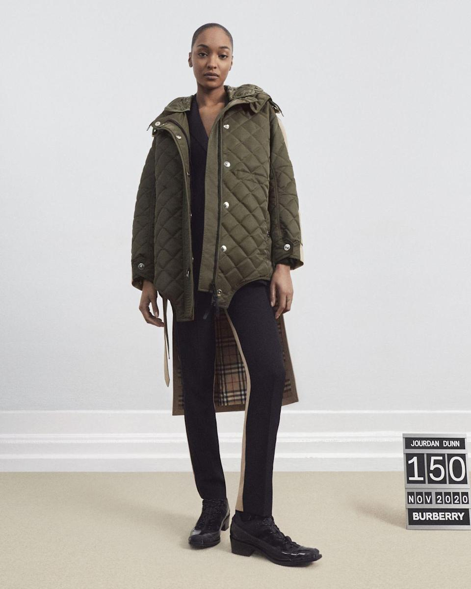<p><strong>Who: </strong>Burberry</p><p><strong>What: </strong>Burberry Future Archive Capsule Collection</p><p><strong>Where: </strong>Available exclusively at Burberry's Chicago store and on Burberry.com January 11th</p><p><strong>W</strong><strong>hy: </strong>Burberry is launching an incredibly limited collection of outerwear with a contemporary take on their archives. Field jackets, bomber jackets, and diamond-quilted coats are reimagined and fused with iconic Burberry trench coat elements. Each piece is being produced selectively and is labeled out of 150, making every item truly special. </p>