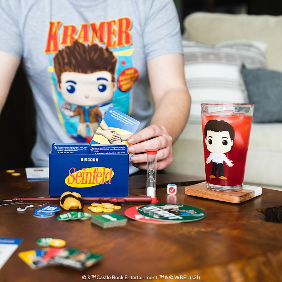 Up your game night fun with Funko Games's 'The Party Game About Nothing' (Photo: Funko)