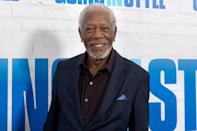 <p>Actor Morgan Freeman won the Cecil B. DeMille Award in 2012, after earning five Golden Globe Award nominations and one win for 1990's <em>Driving Miss Daisy.</em></p>
