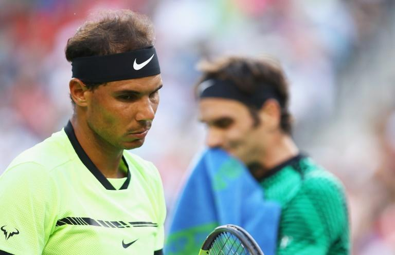Rivals and friends: Rafael Nadal and Roger Federer