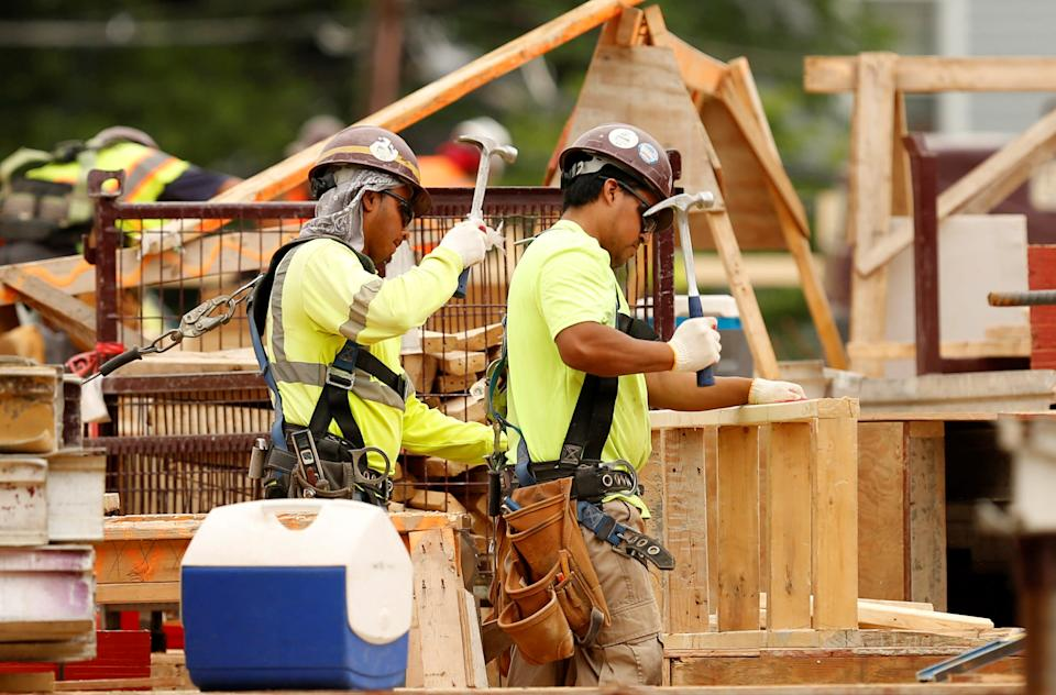 There is a need for more skilled construction workers. REUTERS/Gary Cameron
