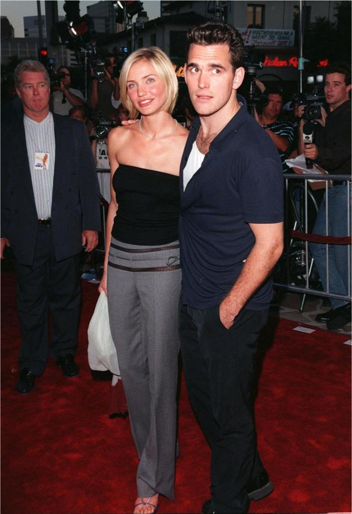 Matt Dillon and Cameron Diaz It Couples From the 90s