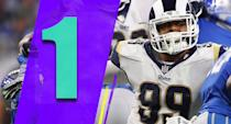 <p>It stinks that defensive players practically can't win the MVP, because Aaron Donald may deserve it. The best player in the league on the best team in the league should get more MVP consideration than he's going to get. (Aaron Donald) </p>