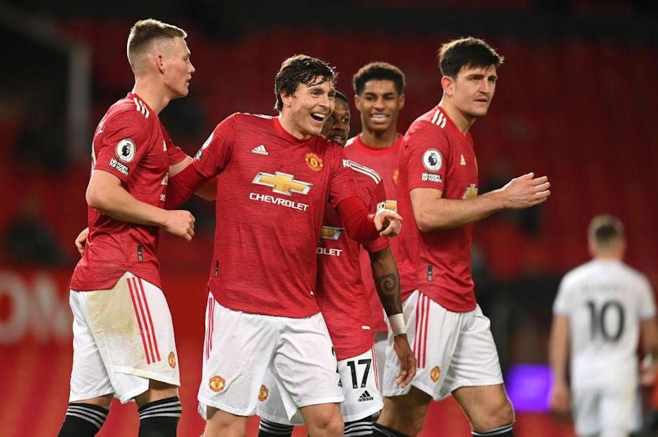 <p>La ofensiva de United explotó el domingo</p> (Foto de Michael Regan / Getty Images)