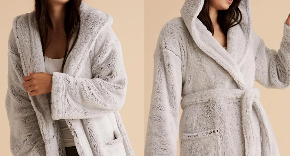 We've found a cosy top-rated M&S dressing gown perfect for colder nights. (M&S)