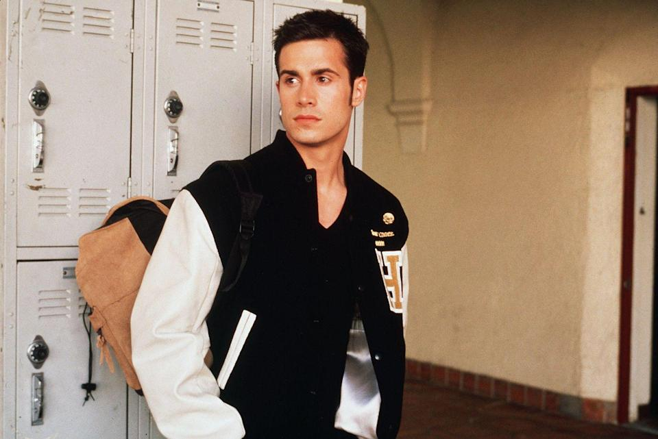 <p>Freddie Prinze Jr. not only gave us <em>She's All That</em>, but he also brought his dreamy self to the horror film <em>I Know What You Did Last Summer</em>. What would the '90s have been like without him? I don't want to think about it. </p>