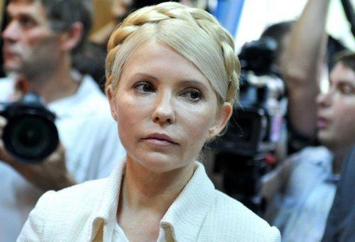 Yulia Tymoshenko, pictured in 2011, was sentenced to seven years in jail for abuse of office