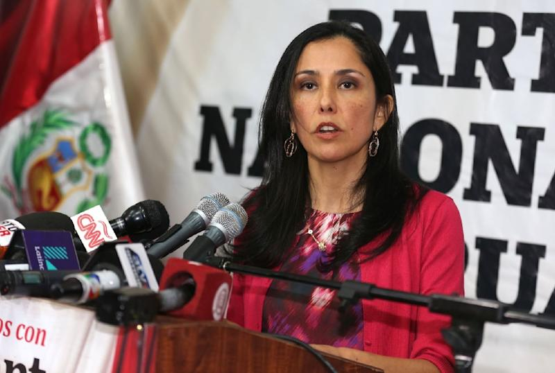 Nadine Heredia and her husband, former Peruvian president Ollanta Humala are accused of laundering $1.5 million allegedly given to fund his presidential campaigns
