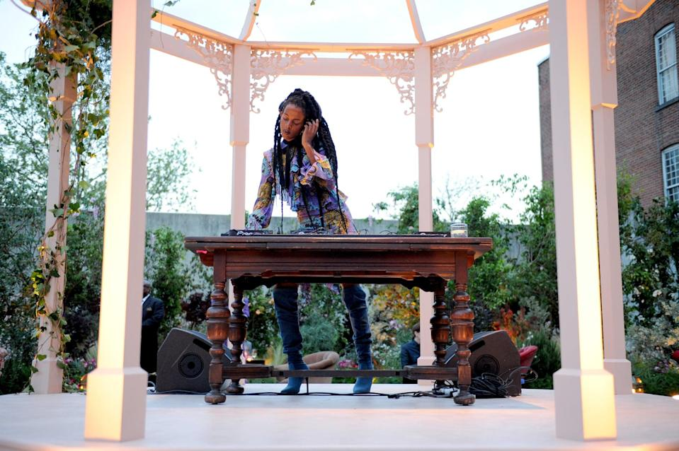 """<p>Juliana is not just a model: she's a DJ, artist, and social media maven. Her work has even been shown at <a href=""""http://www.moma.org/calendar/performance/1564?locale=en"""" class=""""link rapid-noclick-resp"""" rel=""""nofollow noopener"""" target=""""_blank"""" data-ylk=""""slk:The Museum of Modern Art"""">The Museum of Modern Art</a> in New York City. </p>"""
