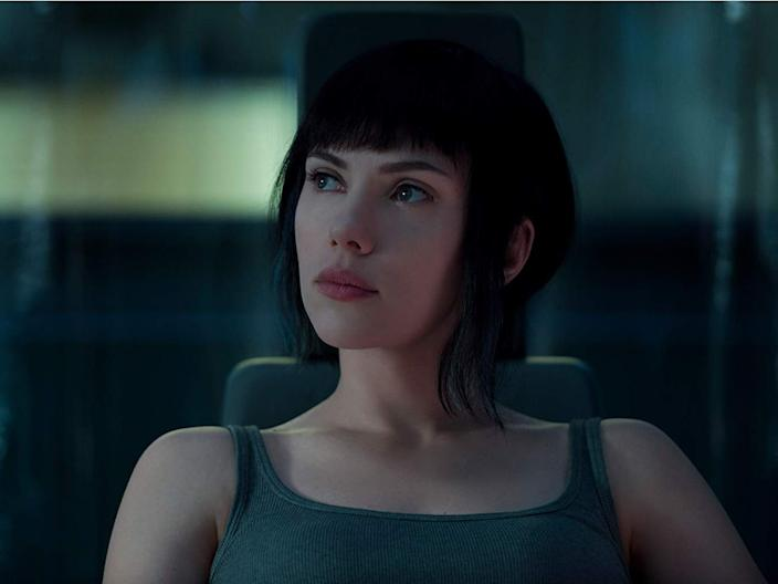 """The casting of Scarlett Johansson in the Japanese manga-turned-movie """"Ghost in the Shell"""" was widely criticized."""