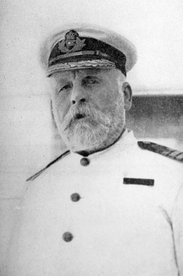 10)	Edward John Smith, Captain of Titanic and her sister ship Olympic