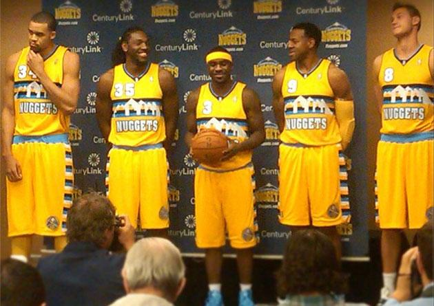competitive price d1531 d6895 The new Denver Nuggets alternate jerseys are pretty great