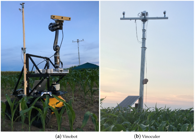 Vinobot and Vinoculer for high-throughput phenotyping in the field