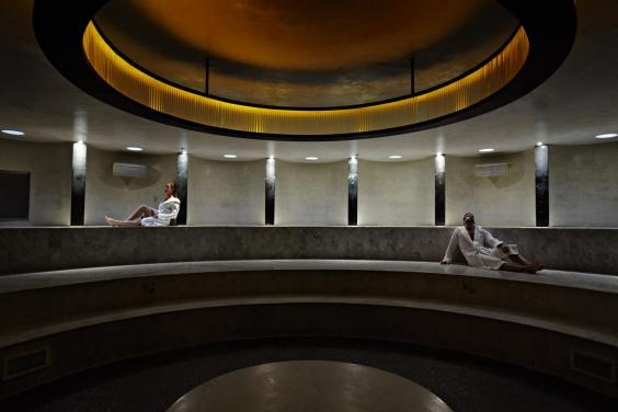 There is nothing standard about this spa hotel (Adrian Gaut)