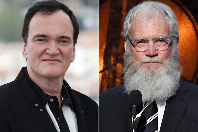 Quentin Tarantino and David Letterman | Tony Barson/FilmMagic; Mike Coppola/Getty
