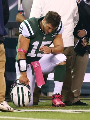 Image result for tebowing
