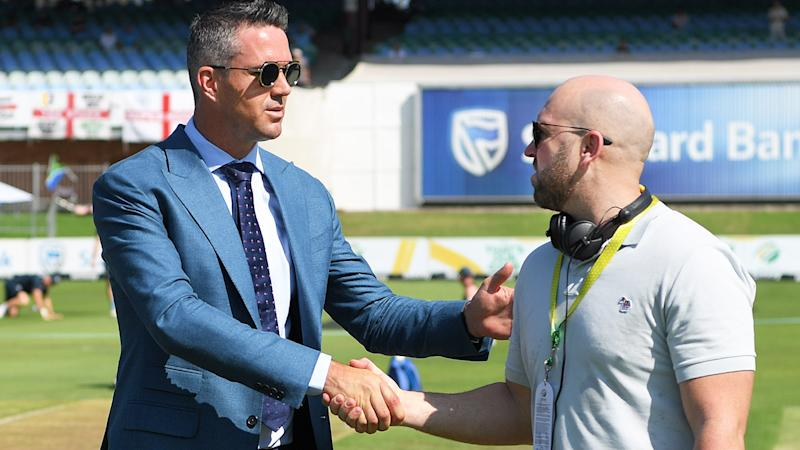 Kevin Pietersen and Matt Prior, pictured here before the third Test between England and South Africa.