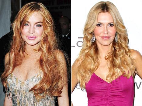 """Lindsay Lohan Returns Borrowed Designer Dress in Tatters, Brandi Glanville Calls Bravo Co-Stars """"Horrible"""" and Says Eddie Cibrian Is With LeAnn Rimes for the Money: Today's Top Stories"""