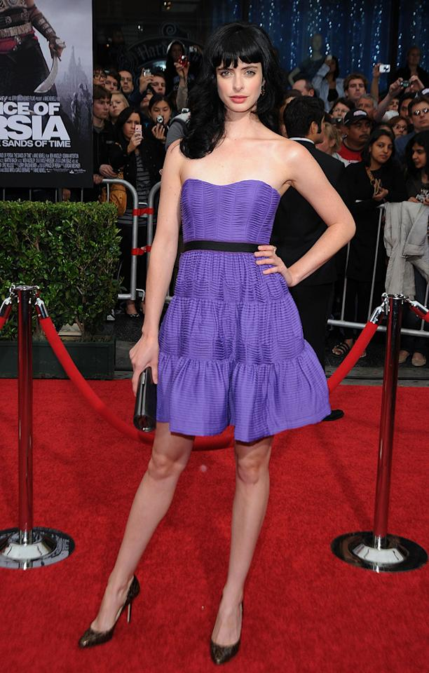 """<a href=""""http://movies.yahoo.com/movie/contributor/1808532777"""">Krysten Ritter</a> at the Los Angeles premiere of <a href=""""http://movies.yahoo.com/movie/1810041991/info"""">Prince of Persia: The Sands of Time</a> - 05/17/2010"""