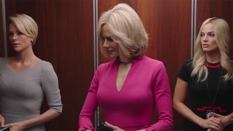 Margot Robbie, Nicole Kidman, and Charlize Theron in Bombshell trailer