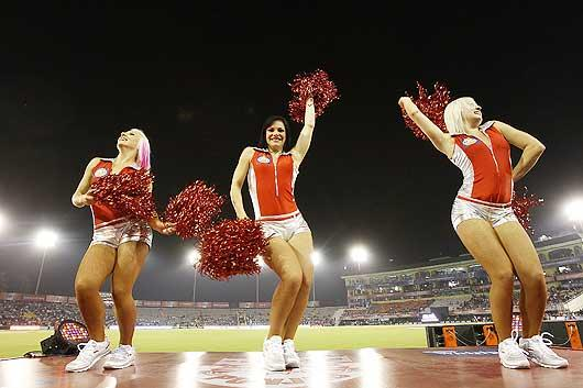 The first year saw Vijay Mallya bringing the Washington Redskins cheerleaders to perform at Royal Challengers' games. (Getty Images)