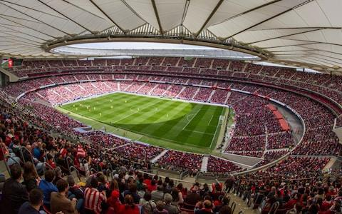 Liverpool and Spurs have each been allocated 16,613 tickets for the final in Atletico Madrid's Wanda Metropolitano stadium - Credit: GETTY IMAGES