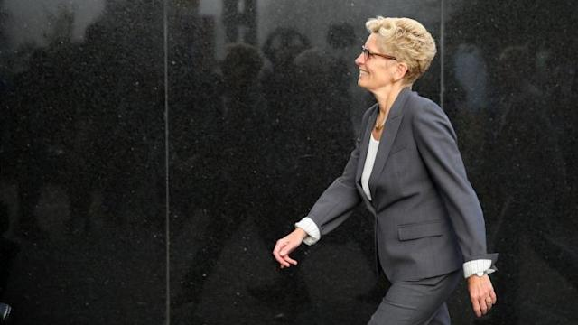 Premier Kathleen Wynne serves PC leader with libel notice