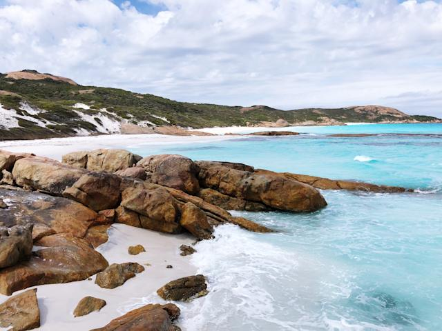 Esperance is located about 720 kilometers (447 miles) southeast of Perth, and is a popular spot for diving. (Getty)
