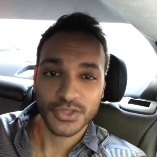 """<p>I'm Arjun Gupta from @syfy's #TheMagicians! I'm taking over this Instragram for the day, and I wanted to start with a video from a car that makes me look a TON more fancy than I am! Excited to spend the day with y'all, so keep it posted here. <br /><a rel=""""nofollow"""" href=""""https://www.instagram.com/p/BPsL-M0DasS/?taken-by=yahootv"""">(Watch the full video.)</a> </p>"""