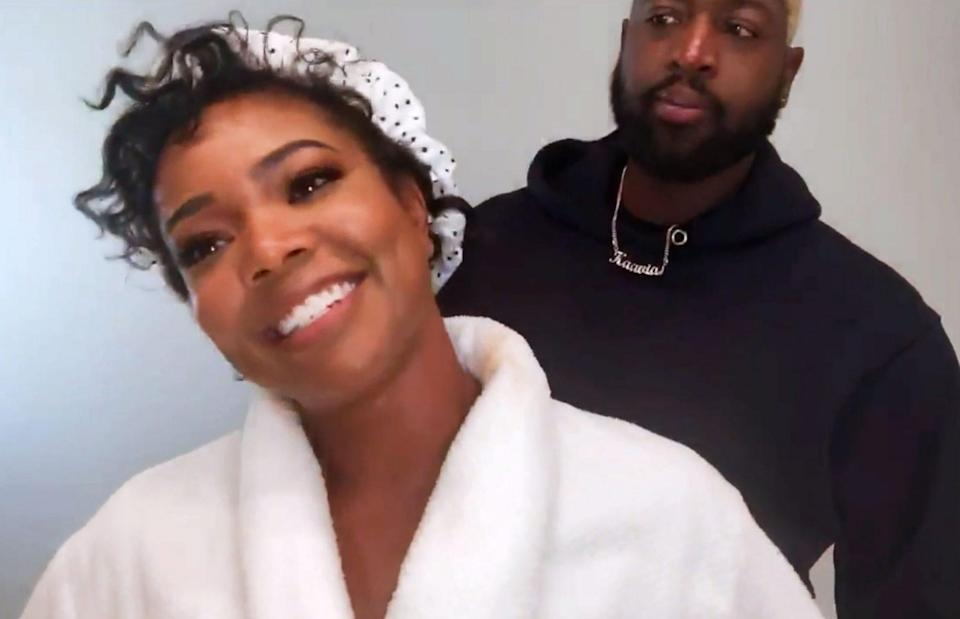 <p>Gabrielle Union and Dwyane Wade gave us minimal couple goals. </p>