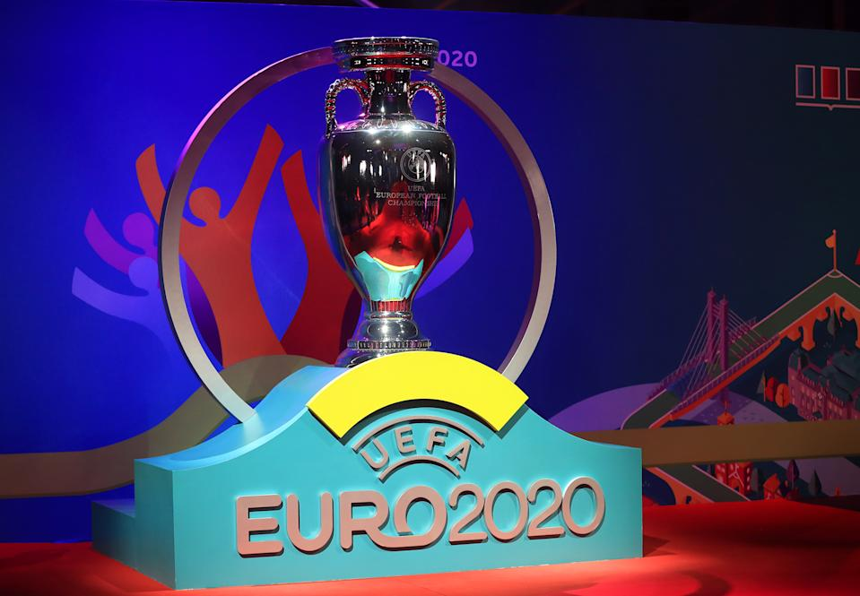 The Euro 2020 draw included what might be the toughest group in the history of the competition. (Photo by Mike Egerton/PA Images via Getty Images)
