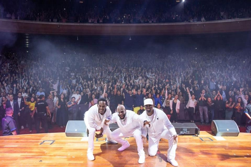 Boyz II Men showed no signs of slowing down, despite 29 years in the industry. — Picture courtesy of Shiraz Projects