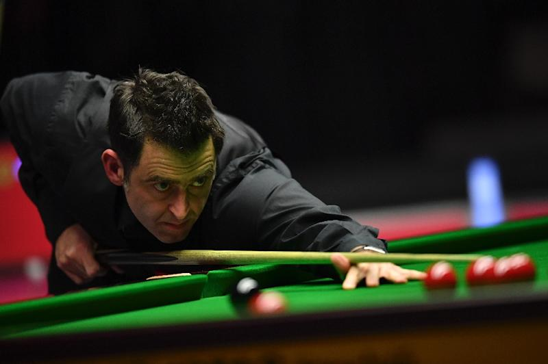 England's Ronnie O'Sullivan at Alexandra Palace in London, on January 22, 2017