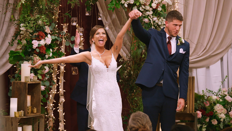 Are Love Is Blind's Barnett & Amber Still Together After That Wild Finale Wedding?